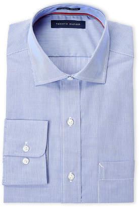 Tommy Hilfiger Stripe Regular Fit Non-Iron Dress Shirt
