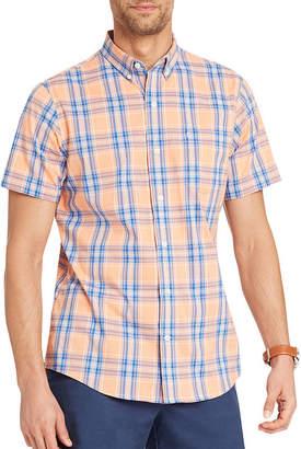 Izod Breeze Short Sleeve Button-Front Shirt