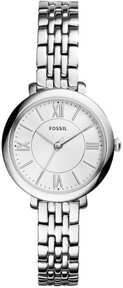 Fossil Women's Jacqueline Stainless Steel Bracelet Watch 26mm ES3797 $115 thestylecure.com