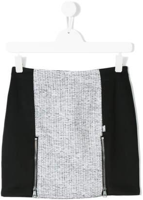 Karl Lagerfeld TEEN paneled skirt