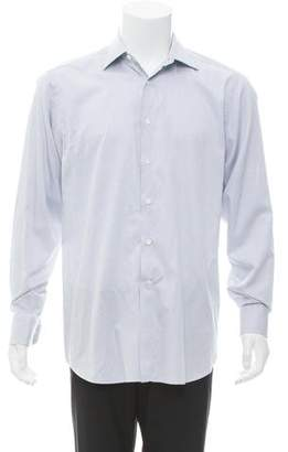 Canali Long Sleeve Button-Up