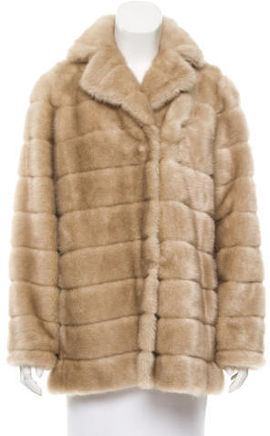 Kate Spade Kate Spade New York Faux Fur Coat