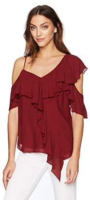 Bailey 44 Women's Ginger Ruffle Sleeve Blouse