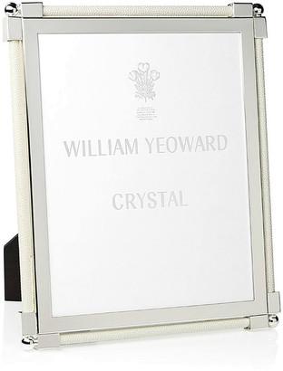William Yeoward Photo Frame Leather