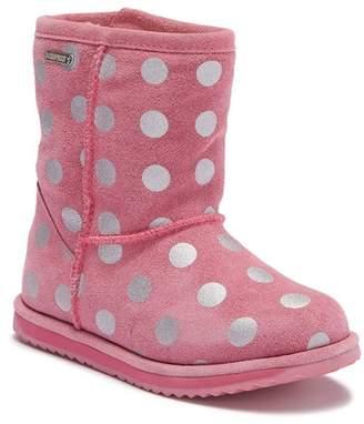 Emu Spotty Brumby Waterproof Suede Wool Lined Boot (Toddler, Little Kid, & Big Kid)