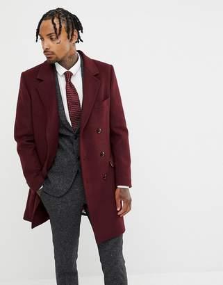 Capone Gianni Feraud Premium Wool Blend Oversized Overcoat