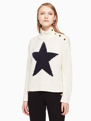 Kate Spade Star turtleneck sweater