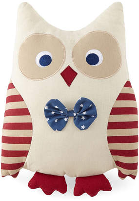 JCPenney JCP HOME HomeTM Patriotic Owl Decorative Pillow