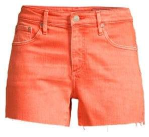 AG Jeans Women's Hailey Cut-Off Colored Denim Shorts - Orange - Size 24 (0)