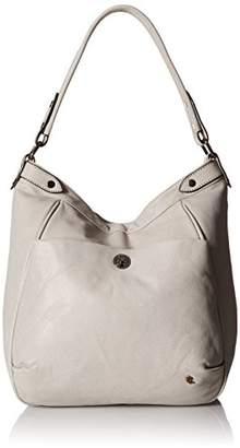 Elliott Lucca Cerise Bucket Hobo Bag