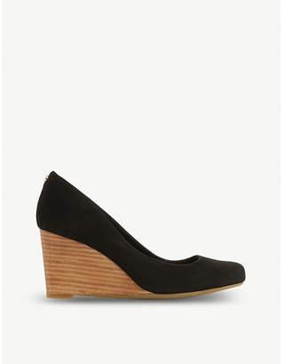 Dune Alixxe suede court shoes