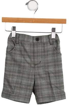 Tartine et Chocolat Boys' Cuffed Plaid Bottoms