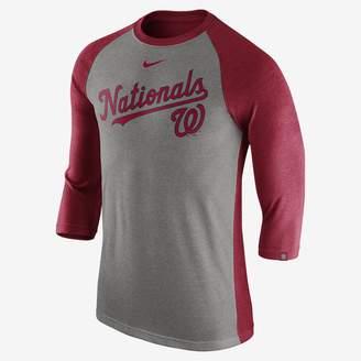 Nike Tri Raglan (MLB Nationals) Men's 3/4 Sleeve Top