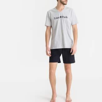 Eden Park Printed Short-Sleeved Pyjamas