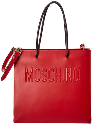 Moschino Leather Tote