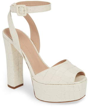 a8e86c7c63967 Giuseppe Zanotti White Heeled Women's Sandals - ShopStyle