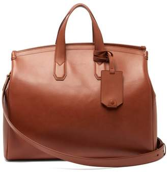 Dunhill Duke Leather Holdall - Mens - Tan