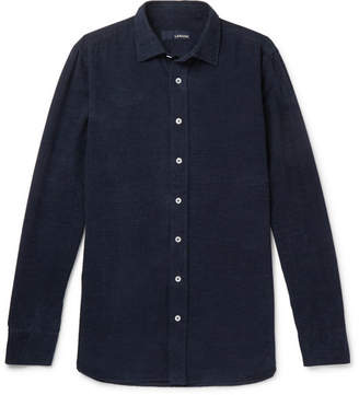 Lardini Slim-Fit Cotton-Corduroy Shirt