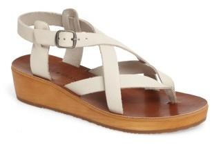 Women's Lucky Brand Hadinas Wedge Sandal $88.95 thestylecure.com