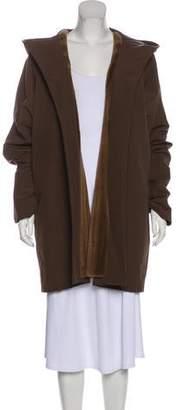 Loro Piana Fur-Trimmed Rain Coat