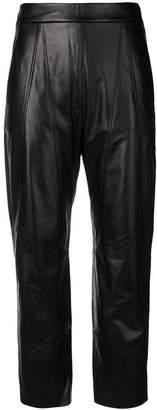 Neil Barrett stitched panel trousers