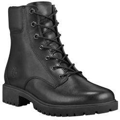 Timberland Jayne Waterproof Leather Combat Boots
