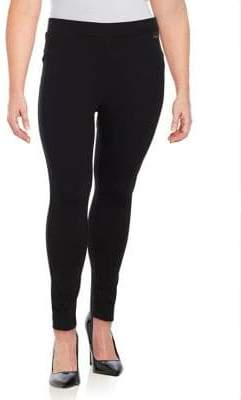 2b2e46e0f23073 Calvin Klein Plus Power Stretch Leggings
