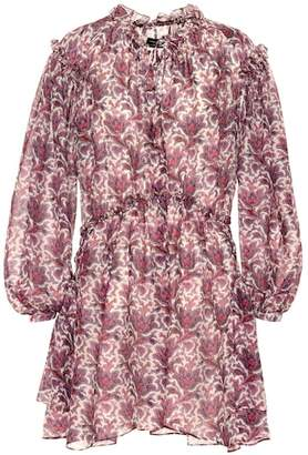 Isabel Marant Nydia printed silk minidress