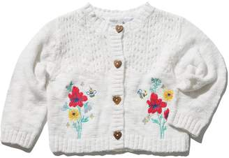M&Co Floral embroidered cardigan