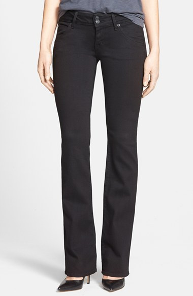 Hudson Jeans 'Beth' Baby Bootcut Jeans (Black) (Online Only)
