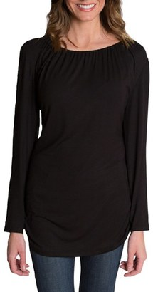 Women's Udderly Hot Mama 'Luxe' Long Sleeve Nursing Tee $58 thestylecure.com