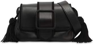 Marco De Vincenzo Nappa Leather Shoulder Bag W/ Tassels
