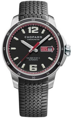 Chopard Men's Mille Miglia 43mm Chronograph Watch $5,510 thestylecure.com
