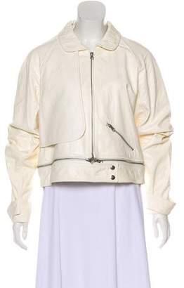 Rebecca Minkoff Asymmetrical Leather Jacket