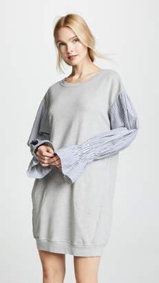 Stateside Sweatshirt Combo Dress