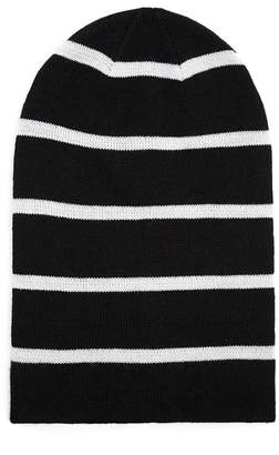 Forever 21 Striped Knit Beanie