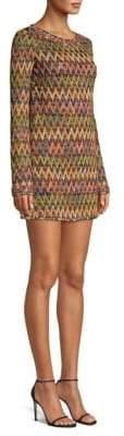 Missoni Textured Zig-Zag Mini Dress