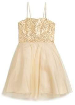 Girl's Sequin Dress $150 thestylecure.com