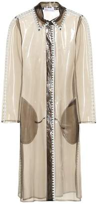 RED Valentino Semi-transparent raincoat