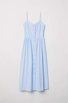 H&M Dress with Buttons - Blue