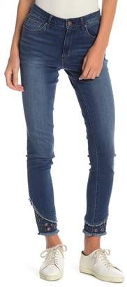 Tractr Grommet High Rise Skinny Jeans