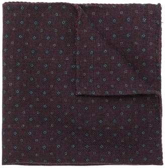 Pal Zileri geometric print handkerchief