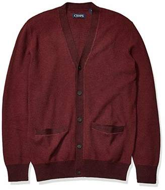 Chaps Men's Soft Cotton Cardigan Sweater