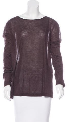 Alexander Wang T by Alexander Wang Long Sleeve Knit Top