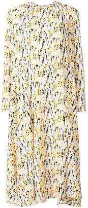 Cavallini Erika paint splash print dress