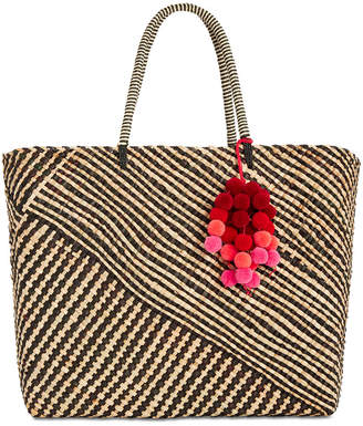 INC International Concepts I.N.C. Stella Woven Beach Tote, Created for Macy's