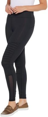 Moto Susan Lucci Collection Regular Leggings with Mesh Detail