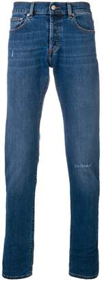 Versus five pocket straight leg jeans