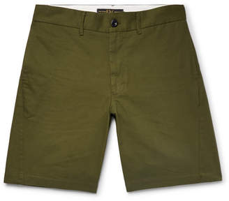 Freemans Sporting Club Cotton-Twill Shorts