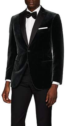 Brioni Men's Policleto Velvet One-Button Tuxedo Jacket